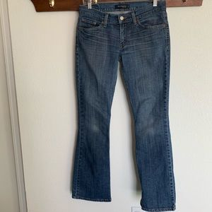 Levi's 524 jeans too super low size 7 medium